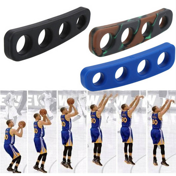 1PCS Silicone Shot Lock Basketball Ball Shooting Trainer Training Accessories Three-Point Size S/M/L for Kids Adult Man Teens #15229