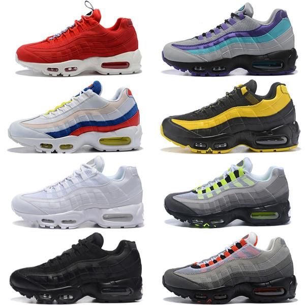 Homme Nike Air max 95 Baskets Chaussures de Sports Noir et