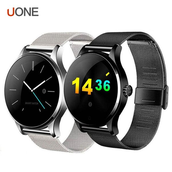 1pcs K88H smart watch smartwatch 1.22 Inch IPS Round Screen Support Sport Heart Rate Monitor Bluetooth SmartWatch For Apple IOS Android