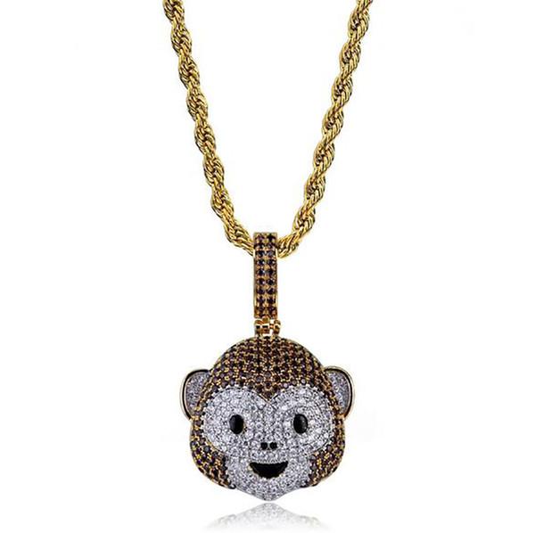monkey emoji+rope chain