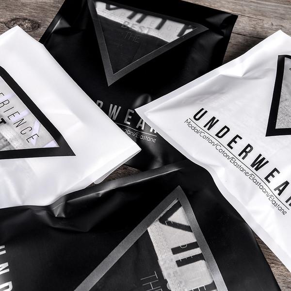 Sacchetti di plastica del pacchetto della borsa della biancheria intima autoadesiva per il viaggio all'ingrosso della famiglia