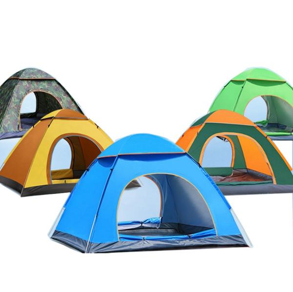 Camping Zelt Automatische 2 Personen Zelte Sofort Schnell Cabana Sun Shelter Klappgarten Sets Outdoor Angeln Camping Werkzeuge 5 Farben YYW2972