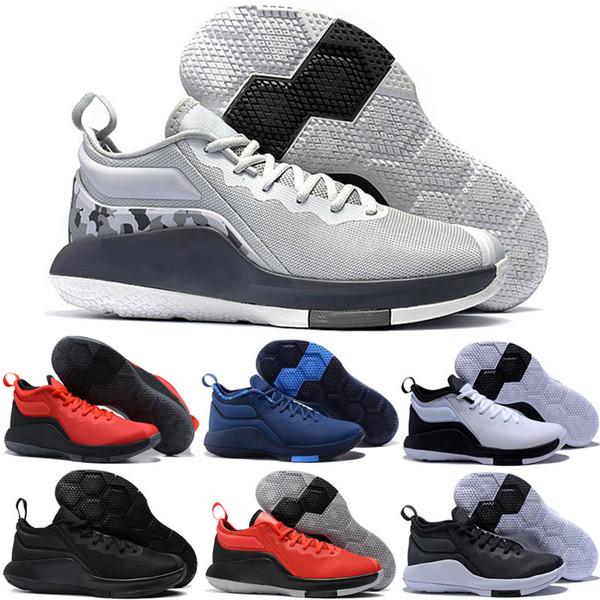 Top Qualité Lebron Zoom Témoin II EP 2 Chaussures De Basket-ball Hommes Maille Bas-haut Équipe Formation Designer Baskets Sports Enfants Chaussures