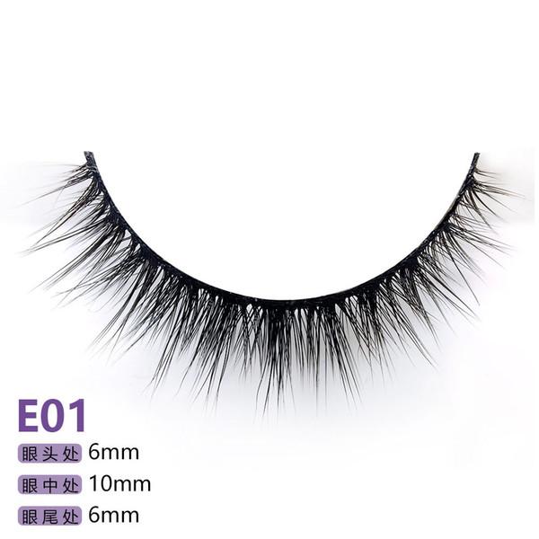 28 models of the E series 5pairs/set False EyeLashes 5 Pairs 3D Natural Long Fake Eyelashes Handmade Makeup Tools Accessories E01