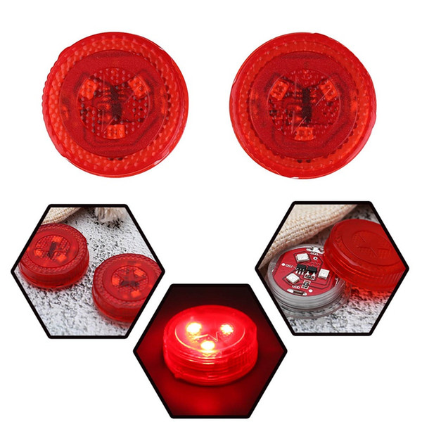 2pcs General Car Door Opening Warnung LED-Lampe sicher Flash Light Kit Wireless Anti-Kollid