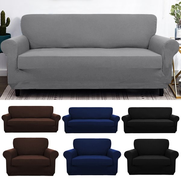 Fine Elastic Spandex Sofa Cover Tight Wrap All Inclusive Couch Covers For Living Room Sectional Sofa Cover Love Seat Patio Furniture Couch And Chair Covers Ncnpc Chair Design For Home Ncnpcorg