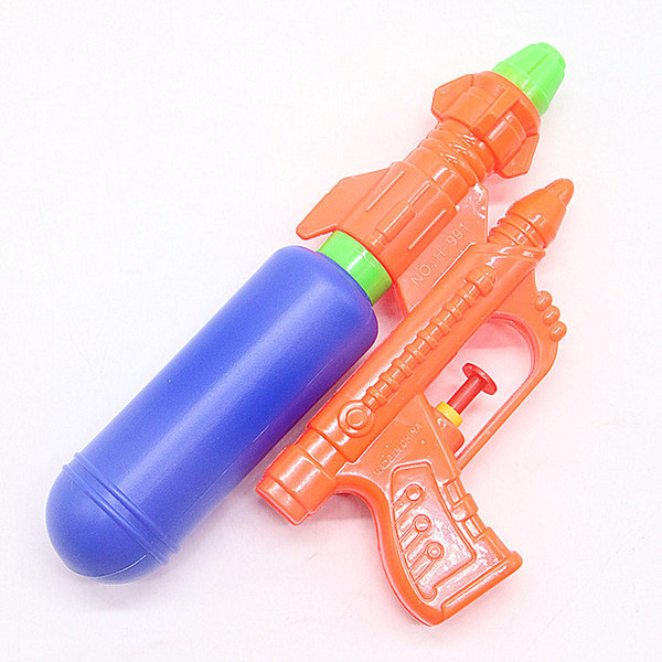 Children's Water Gun New Summer Beach Playing Baby Toys Wholesale Summer Plastic Ground Spread Source Hot Selling Explosion