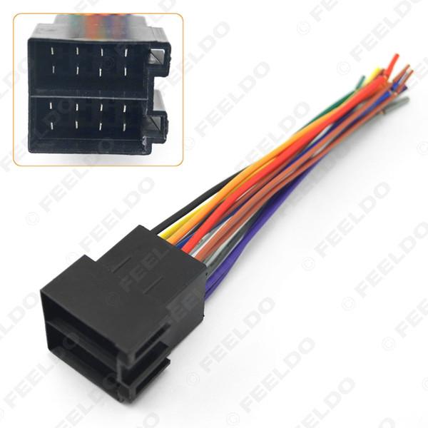 LEEWA Car OEM Audio Stereo Wiring Harness For Volkswagen/Audi/Mercedes Install Aftermarket Stereo SKU #:1770