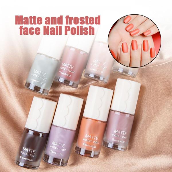 Matte Gel Nail Polish Set Pastel Red Yellow Sky Blue Pink Matte Top Coat Nail Polish 9ml Mv99 Kids Nail Polish La Colors Nail Polish From Caohu
