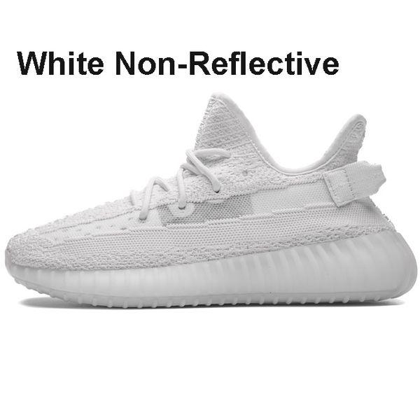 White Non-Reflective