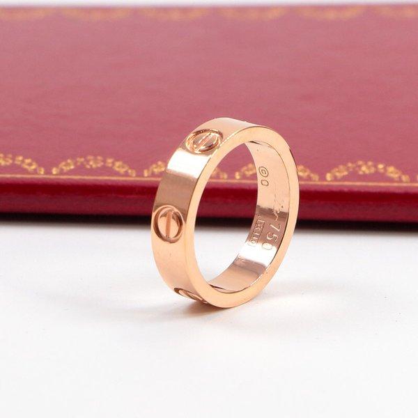 5 mm de oro rosa de piedra sin
