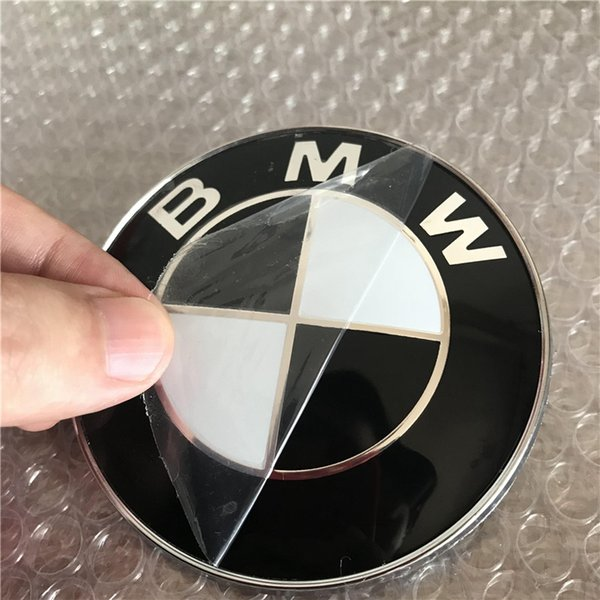 Nuevo reemplazo negro de la insignia del emblema del tronco de la capilla de 82m m para BMW 528i 535i 740i 750i X4 c / w con 2 pernos