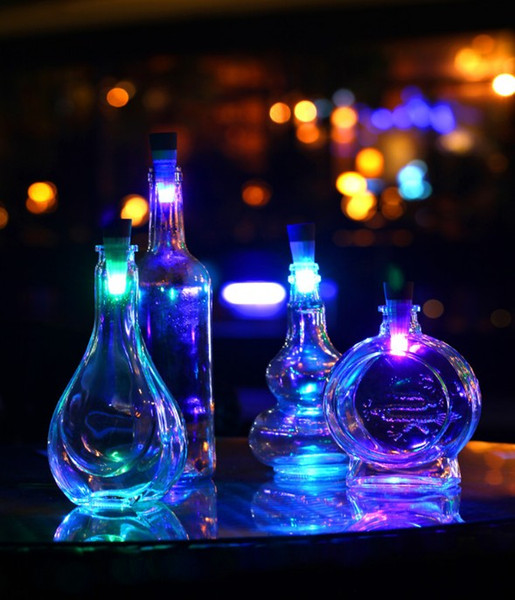NUOVA USB ricaricabile LED Bottiglia di vino Luce Esagono creativo Tappo di sughero Lampada da bottiglia di vino vuota super luminosa per festa Patio Xmas LED luce di sughero