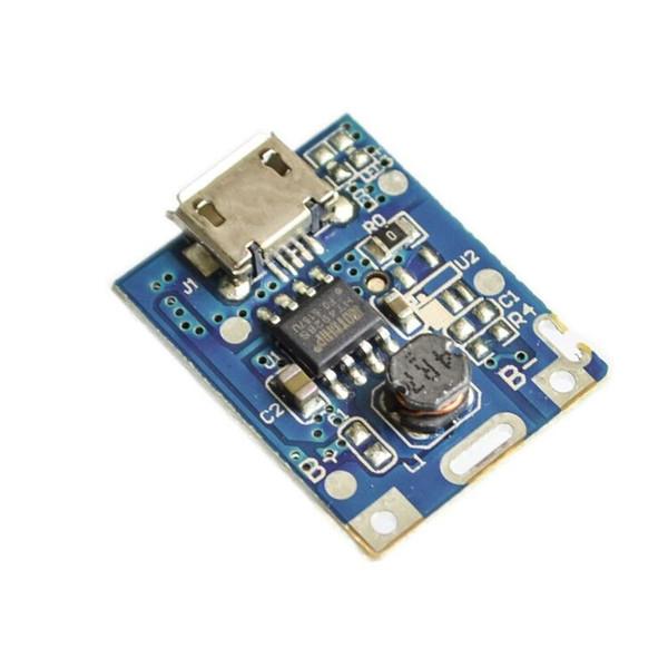 100 PCS 5 V Boost Step Up Module D'alimentation Lithium LiPo Batterie Protection Conseil De Protection LED Affichage USB Pour DIY Chargeur 134N3P Livraison Gratuite