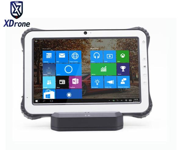 Ursprüngliches K12 industrielles Windows 10 robuster Tablette-PC 10,1 Zoll IP67 wasserdichtes staubdichtes stoßsicheres Ublox GPS 3G