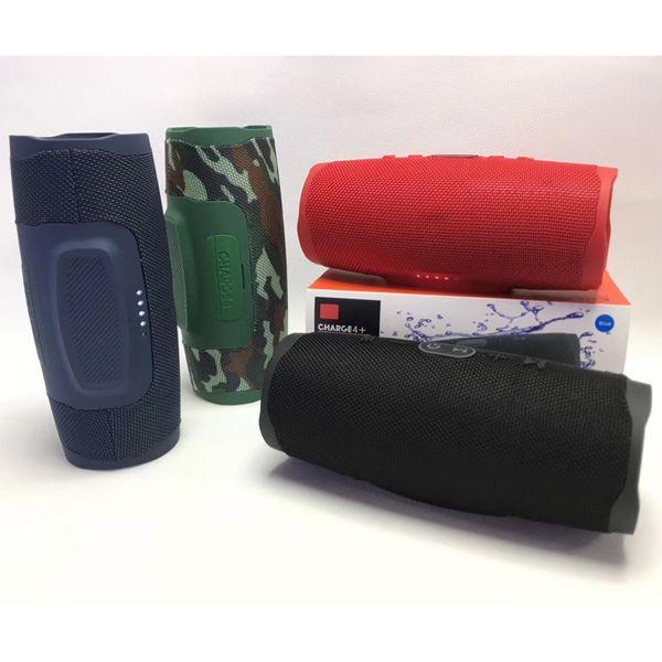Haut-parleur Bluetooth Haut-parleurs portables de charge 4+ Haut-parleurs sans fil stéréo avec caisson de basses Profonde Retail Box