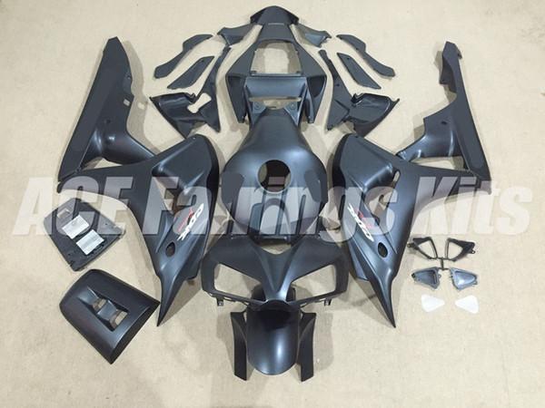 New ABS motorcycle Full Fairings Kits+Tank cover Fit For HONDA CBR1000RR 06 07 2006 2007 CBR 1000RR bodywork set bike Fairing matte black
