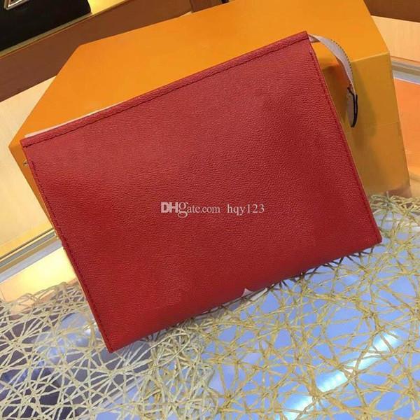 Kadın debriyaj çanta moda Paris lüks poşet moda kadın Çanta iki renk boyutu 26x20x5 cm modeli M67691