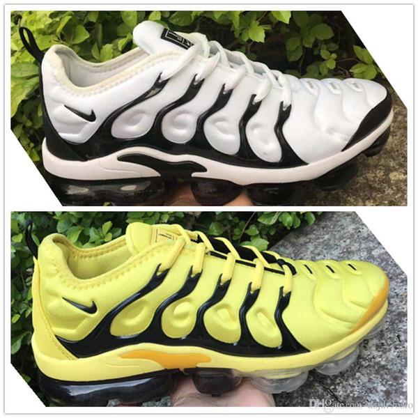 2019 nouvelle TN Plus air hommes femmes en cours d'exécution pour hommes de la mode designer max chaussures Wave Runner formation chaussures Sneakers 36-45