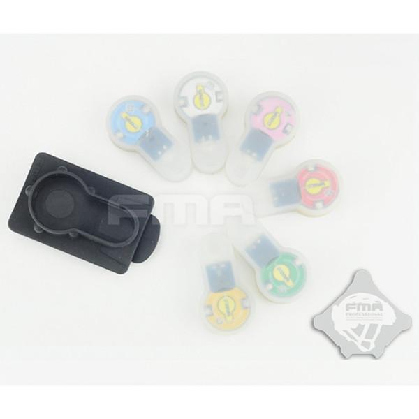 FMA S-LITE шлем рюкзак карты Buttom стробоскоп 6 цветов безопасность выживания водонепроницаемый лампа highlow термостойкость