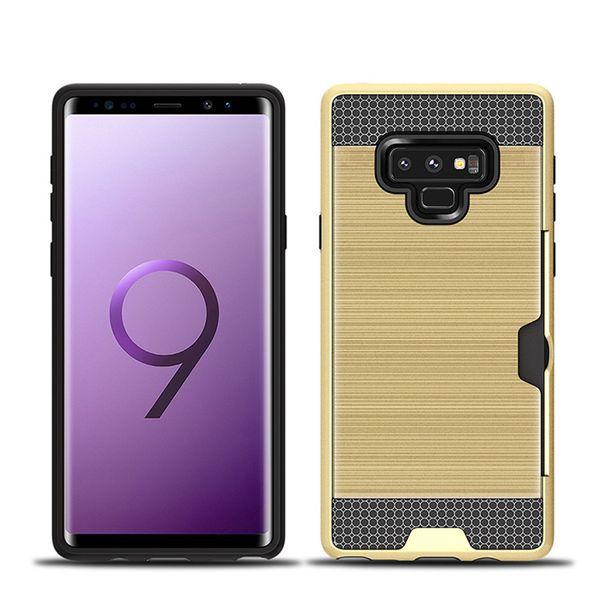 Moda escovado cartão anti-queda caso de telefone móvel para: MOTOROLA G2 G3 G4 mais Z G5 Google Pixel XL NOKIA Nokia 8