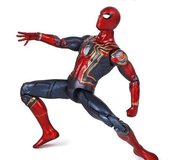 Marvel Legends Avengers Infinity War - Fer spiderman spiderman Ultra Joints Moveable Action Figure Modèle Enfants Jouet
