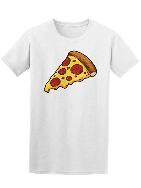 Один кусок пиццы мужская футболка-Image by Fashion