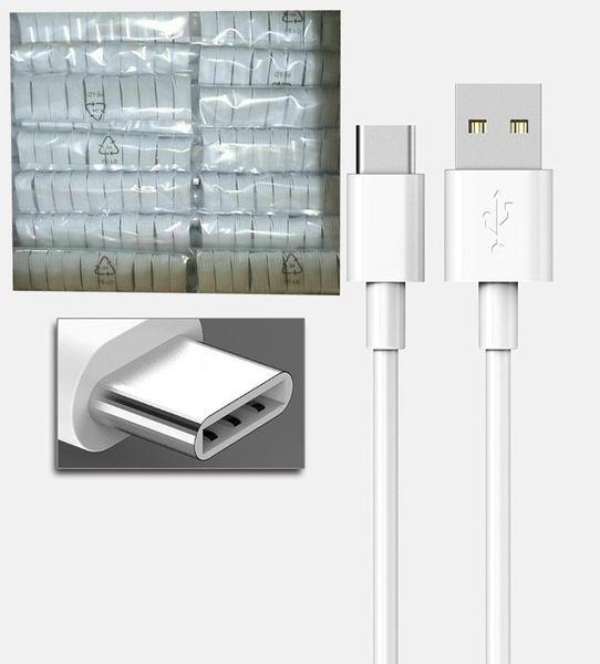 Cable USB compatible para Android Cable USB C Cable de teléfono móvil Tipo de carga rápida Cable S10 USB Tipo C