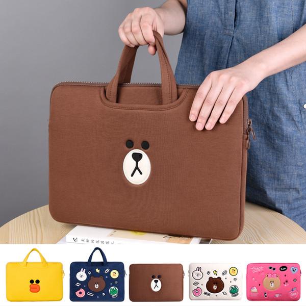 Laptop Bag Sleeve 11 12 13.3 14 15.6 Pouce Sacoche étanche pour ordinateur portable Pour Macbook Air Pro 11 13 15 Ordinateur Pour Femmes Hommes