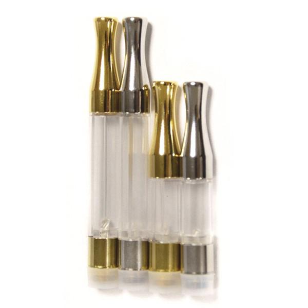 G2 Dab Pen Cera Vaporizador Vacío Vape Pen Cartuchos Punta de metal redonda sin fugas para 510 Hilo Batería Wick Coil Pyrex Glass Tank