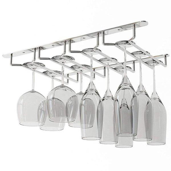 Sous Cabinet Stemware Verre à vin Porte Support de rangement 2,17 pouces profond