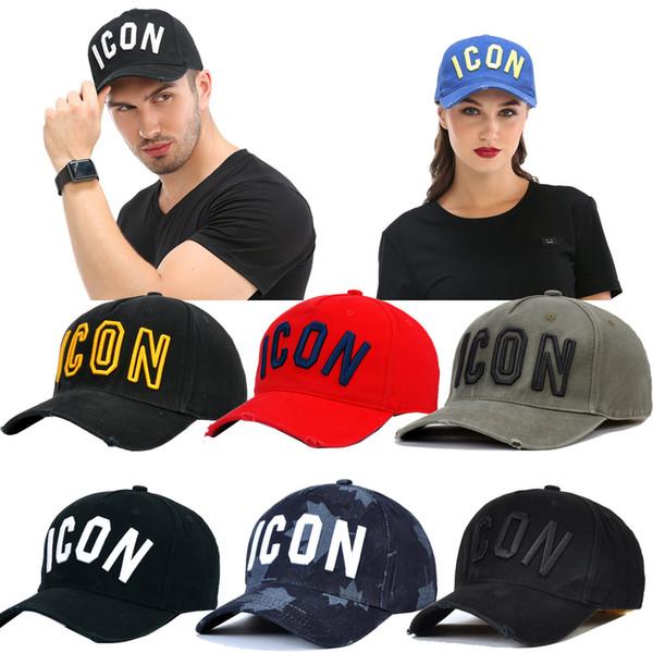 Nuovi cappelli da uomo per l'estate 2019 Moda europea e americana Cappellino da donna Cappelli per donna Cappellini da baseball per sport all'aria aperta ICON Factory Direct