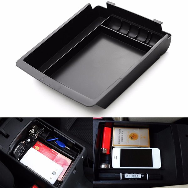 New ABS Armrest Secondary Storage Box Center Console For HYUNDAI for ELANTRA 2011 2012 2013 2014 2015 187 x 165 x 35mm