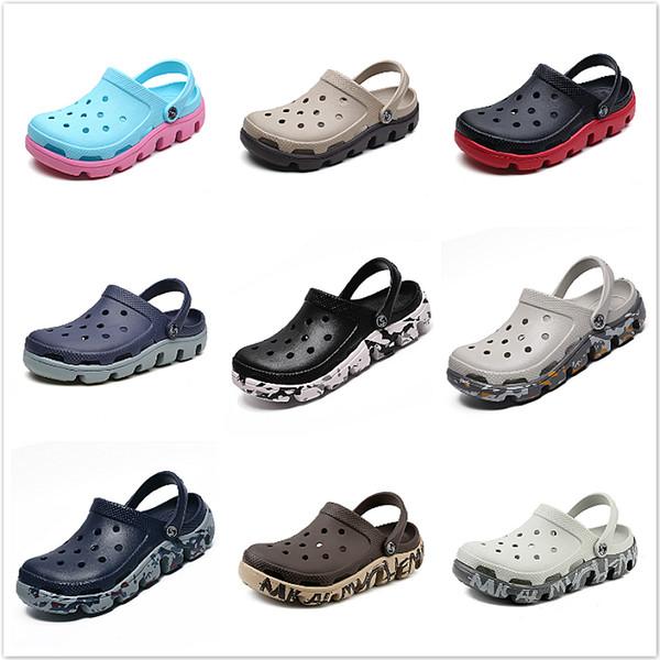 Garten-Schuhe Aqua Clogs Massage Hausschuhe Flip Flops Männer Sommer Croc terlik Sandalen Gladiator Sandalen Schuhe De Hombre
