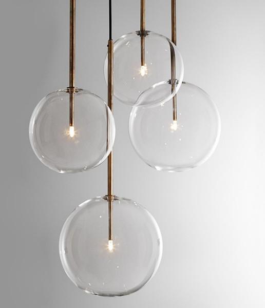 Pendelleuchte G9 Glas LED transparent Warmweiß Esszimmer