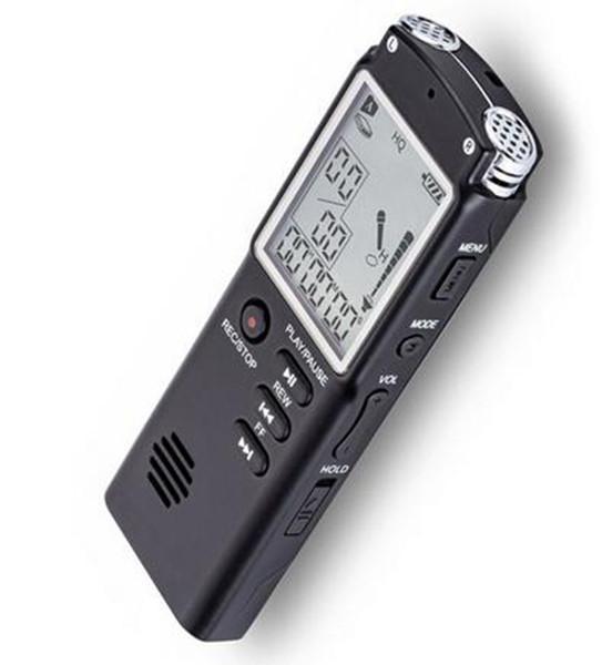 top popular Digital Voice Recorder USB Professional 96 Hours Dictaphone Digital Audio Recorder Mp3 Player 8GB 16GB 32GB 2020