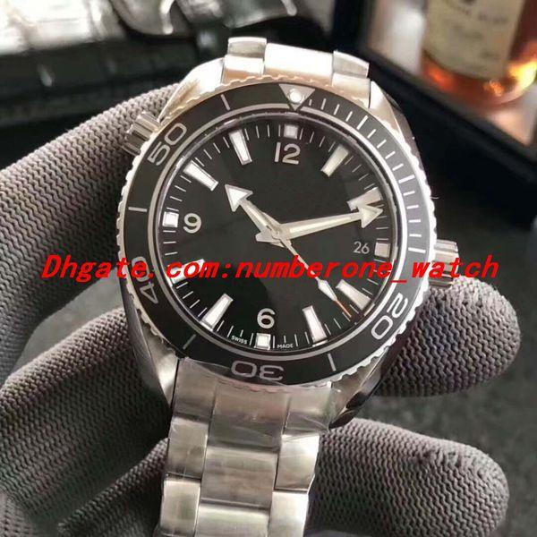 Best Edition XF Automatic Watch Mens Cal.8500 Ceramic Bezel Professional Dive Eta 600M Steel Sapphire Men Watches Wristwatches
