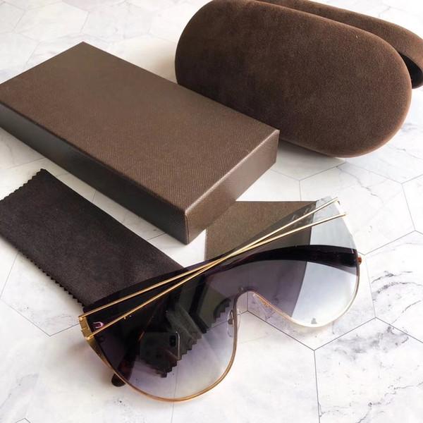 Новый дизайнер солнцезащитные очки ft0783j солнцезащитные очки для женщин мужчин солнцезащитные очки женщин бренд дизайнер покрытие УФ-защита мода солнцезащитные очки oculos де