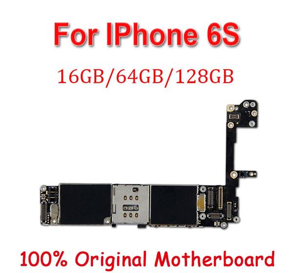 Déverrouillé en usine pour la carte mère iphone 6S 6 S avec ID tactile / sans ID tactile, original déverrouillé pour plaque principale MB pour iphone 6S