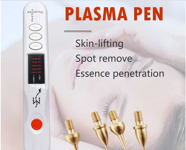 Medical Eyelid Lifting Monster Plasma Pen/Professional Beauty Monster Germany Plasma Pen For Personal Use/Derma Rolling System