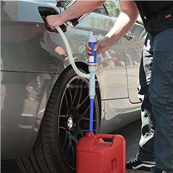 Pompa di trasferimento del liquido elettrica Universale a batteria Car Outdoor Car Fuel Gas acqua olio Aspirazione Trasferimento Liquidi non corrosivi Uso in D0804