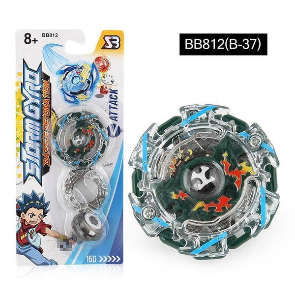 New Toupie Beyblade Burst Beyblades Metal Fusion with Color Box Gyro Desk Top Game For Children Gift BB812 Without Launcher