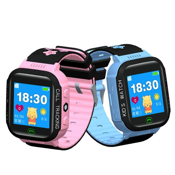 Y21 Smart Watch for Kids Security Anti-lost GPS Tracker SIM Call Phone Wrist Watch SOS Touch Screen Smart Accessory Remote