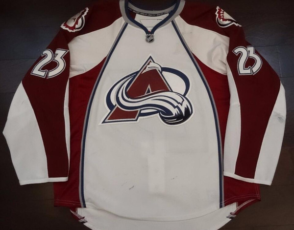Rare Vintage 0809 MILAN HEJDUK COLORADO AVALANCHE HOCKEY JERSEYS Embroidery Stitched Customize any number and name Jerseys