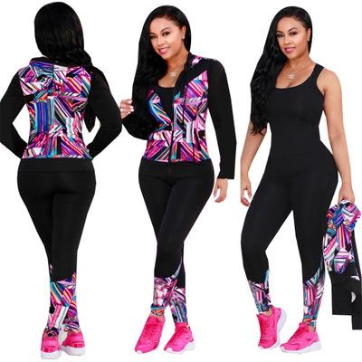 New Women Sexy Outfit Tracksuits Long Sleeve Hoodies Cardigan Tops and Long Pants Two Piece Sets Tracksuit Casual Sport Suits P438