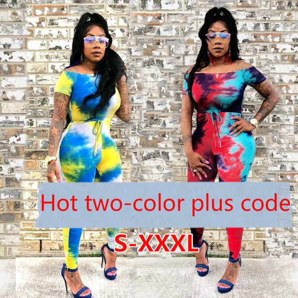 D627 Women's high-end European and American sexy women's nightclub jumpsuit hot sale explosions printed tight sexy collar