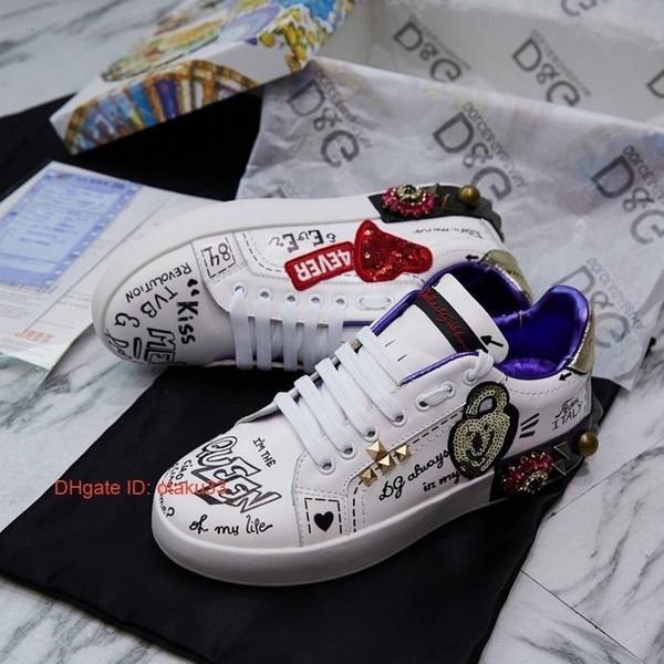 Высочайшее качество женщин новые туфли модные кроссовки повседневная обувь кожа спорт классические квартиры 2019 09175