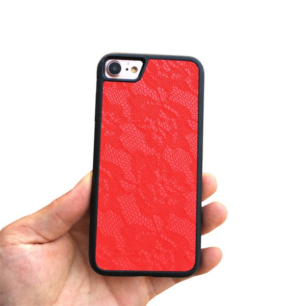 Handmade Cell Phone Case for Iphone 6 7 8 6plus 7plus 8plus Cover Case Luxury Lace Pu Leather Business Cover for Iphone Xr X Xsmax Shell