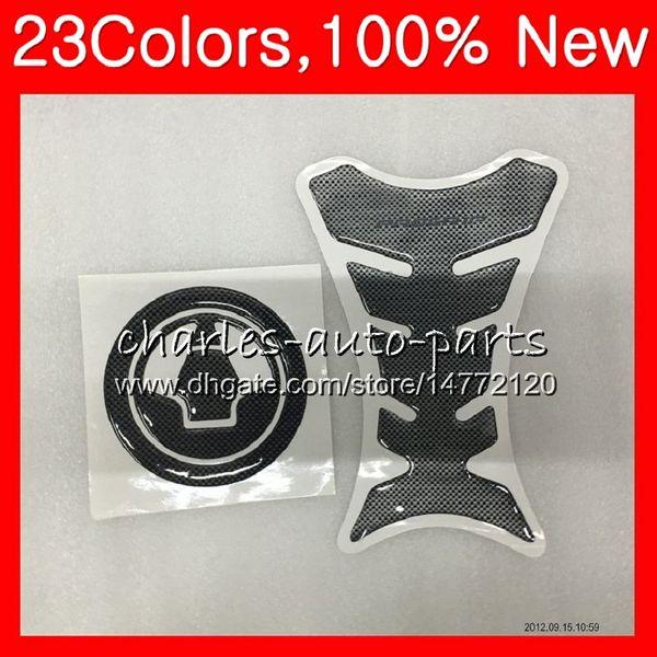3D Carbon Fiber Tank Pad Protector For KAWASAKI NINJA ZX10R 08 09 10 11 ZX 10R ZX-10R 2008 2009 2010 2011 CL43 Gas Tank Cap sticker decals