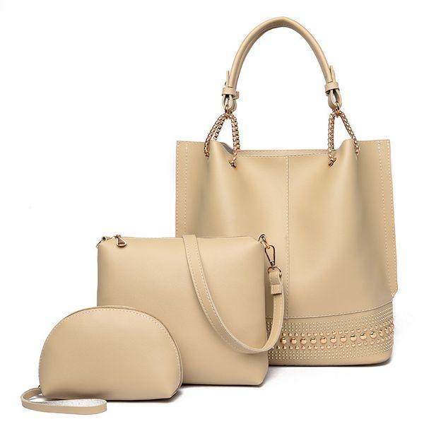 Distinctive2019 Xia Commodity Zimu Woman Package Dreiteilige Damenhandtasche Oblique Satchel